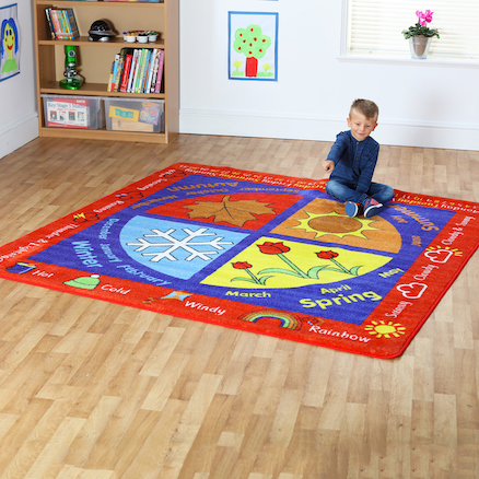 Seasons Floor Mat 200 x 200cm  large