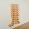 Wellie Shaped Wooden Wellie Rack  small