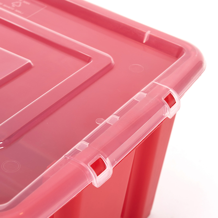 Stack and Store Plastic Storage Box Lid  large