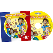 Chante En Francais Songs CD  medium