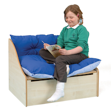 Maple Reading Corner Sofa L82 x D60 x H60cm  medium