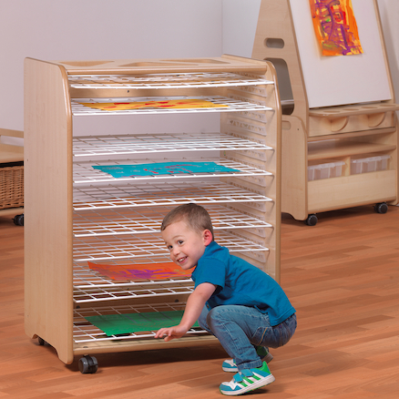 Playscapes Drying Rack With 10 Racks  large