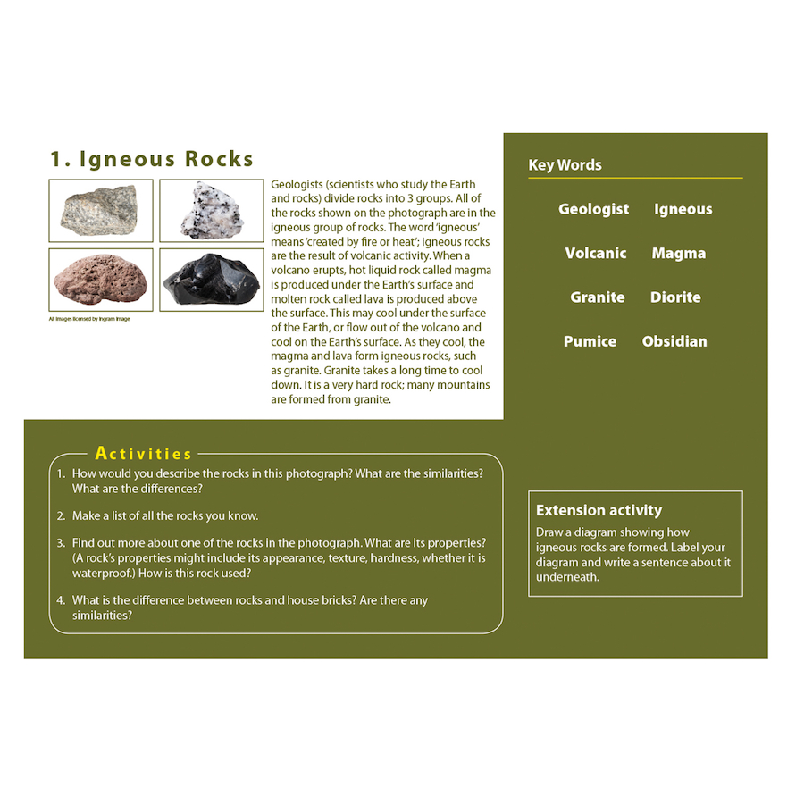 Buy rocks soils and fossils photopack tts rocks soils and fossils photopack small pooptronica
