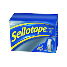 Double Sided Sellotape Roll 2pk  medium