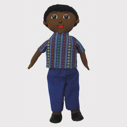 Soft Body Fabric Multicultural Diversity Dolls  large