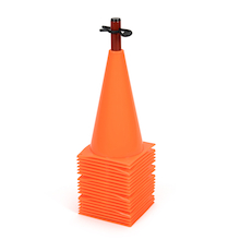 Flexible Marker Cones 20pk  medium