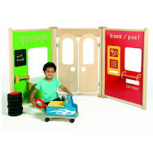 Indoor Role Play Panels Set  medium