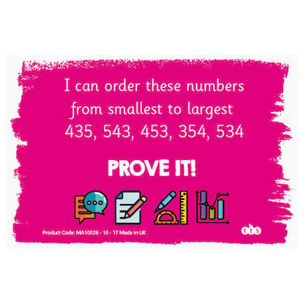 Prove It Activity Cards Year 3 100pk  large