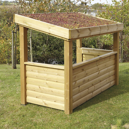 Outdoor Wooden Roleplay Room  large