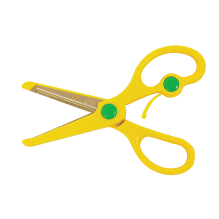 Spring Assisted Safety Scissors  large