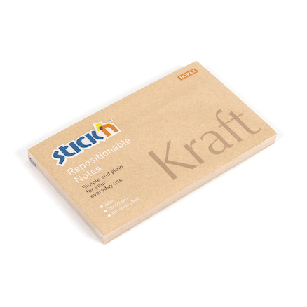 Kraft Notes 76mm x 127mm 12pk  large
