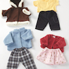 Role Play Dolls Winter Clothing Set  small