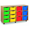 Tray Storage Unit With 8 Deep 6 Extra Deep Trays  small