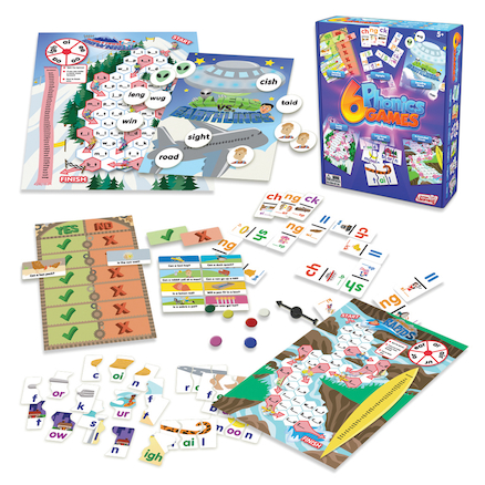 Synthetic Phonics Games 6pk  large