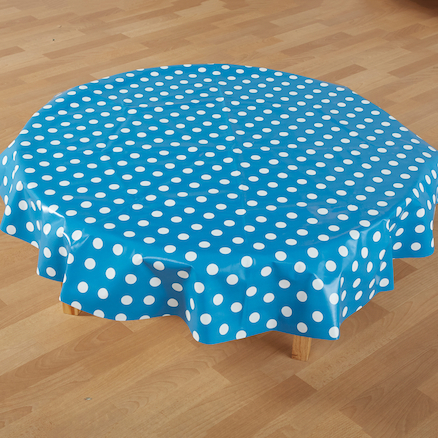 PVC Wipe Clean Tablecover  large