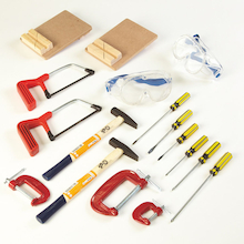 Busy Bench Builders Tool Kit 17pcs  medium