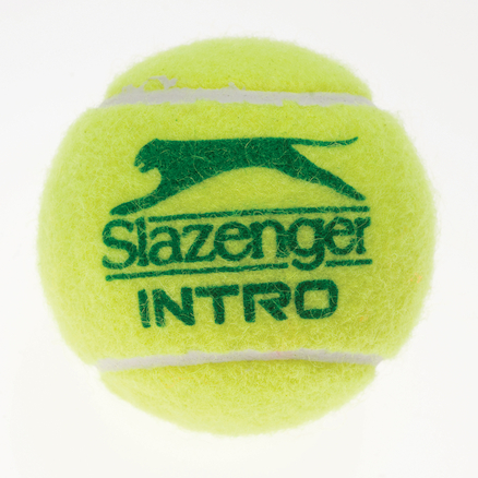 Slazenger Mini Tennis Green Balls Bucket 3pk  large