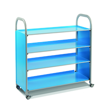 Callero Four Shelf Metal Trolley  medium