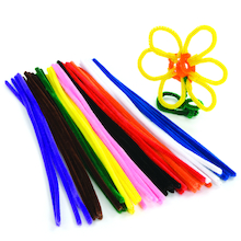 Assorted Pipe Cleaners 50pk  medium