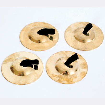 Finger Cymbals 2 pairs  large