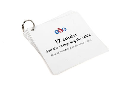 Times Table Mastery Keyrings  large
