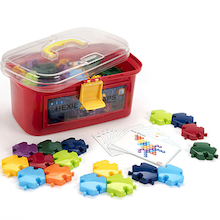 Hexagonal Slotting Pieces 96pk  medium