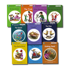 Dandelion Phonic Readers Decodable Book Packs 10pk  medium