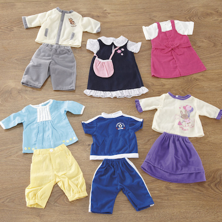 Role Play Doll's Dressing Up Clothes  large