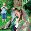 Outdoor Camouflage Telephone and Tube Set 2pk  small