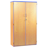 Coloured Edge Lockable Cupboard  small