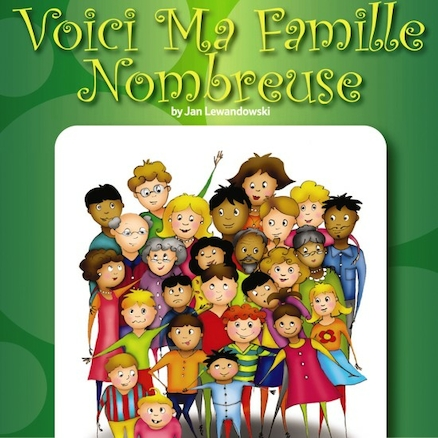 Voici Ma Famille Nombreuse French Storybook  large