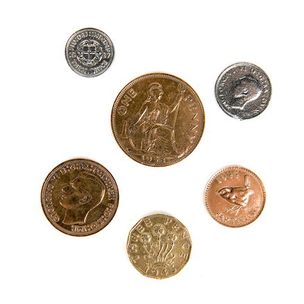 Replica British War Time Coins  large