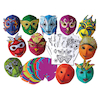 Decorate Your Own Mardi Gras Carnival Masks 30pk  small