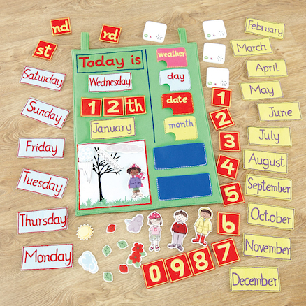 Recordable Interactive Talking Wall Calendar  large
