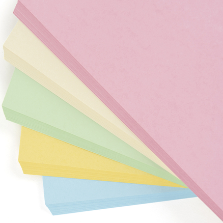 Pastel Card Assorted 230 Micron  large