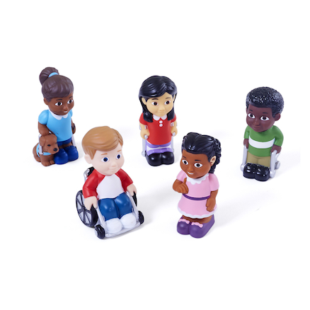 Small World Children with Different Abilities  large