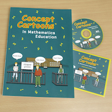 Concept Cartoons Maths Book and CD ROM  medium