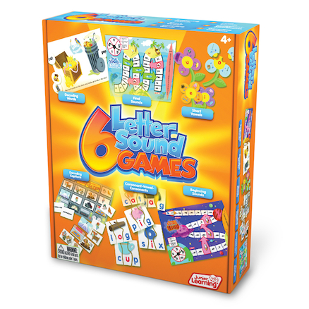 Letter Sound Phonic Games 6pk  large