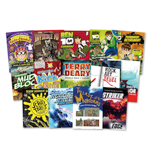 KS3 Lower Ability Boys Books 14pk  medium