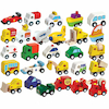 Small World Wooden Vehicles Set 24pcs  small