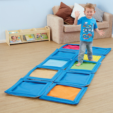 Sensations Path Sensory Textured Floor Mat Panels  medium