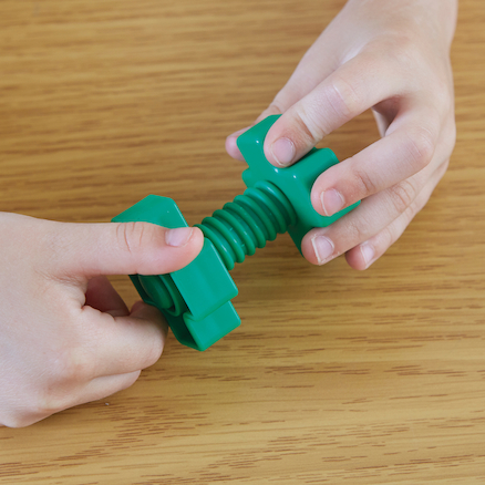 Jumbo Nut and Bolt Fidget  large