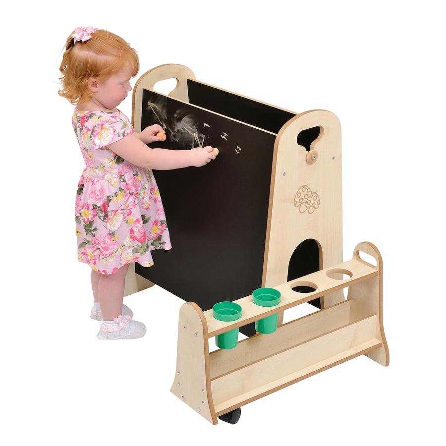 buy toddler easel with storage tts. Black Bedroom Furniture Sets. Home Design Ideas