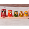 Wooden Owl Stacker 1\-5  small