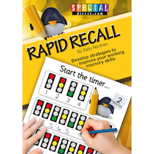 Rapid Recall Memory Skills Worksheet Book  medium