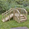 Outdoor Toddler Ramp and Steps  small