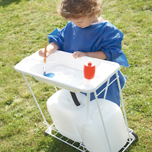 School Mobile Indoor or Outdoor Sink Unit  medium