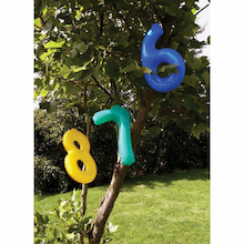 Giant Inflatable 0-9 Numbers 36cm  medium