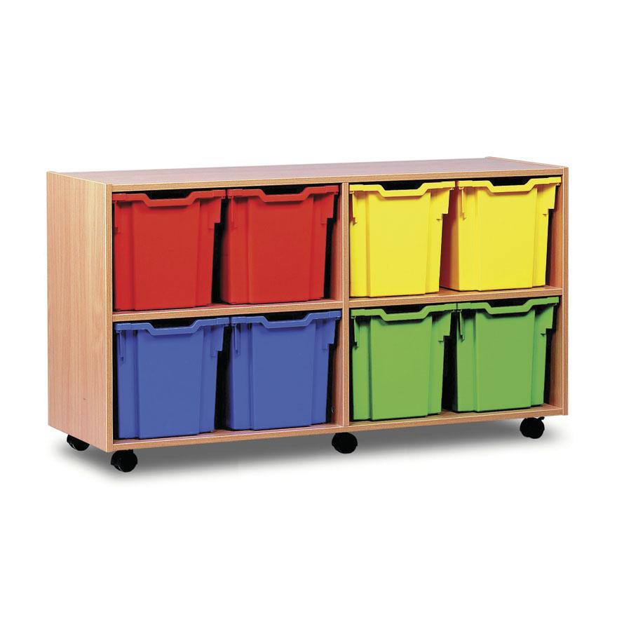 Buy mobile tray storage unit with 8 jumbo trays tts - Jumbo mobel discount ...
