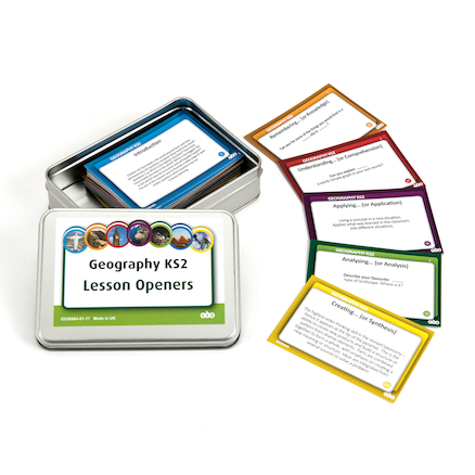 Geography Tin Activity Cards  large